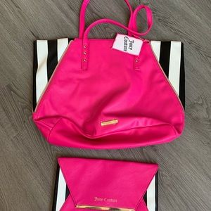 Juicy Couture Tote and Clutch